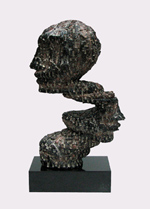 Sculpture abstrait DOSPERFILS